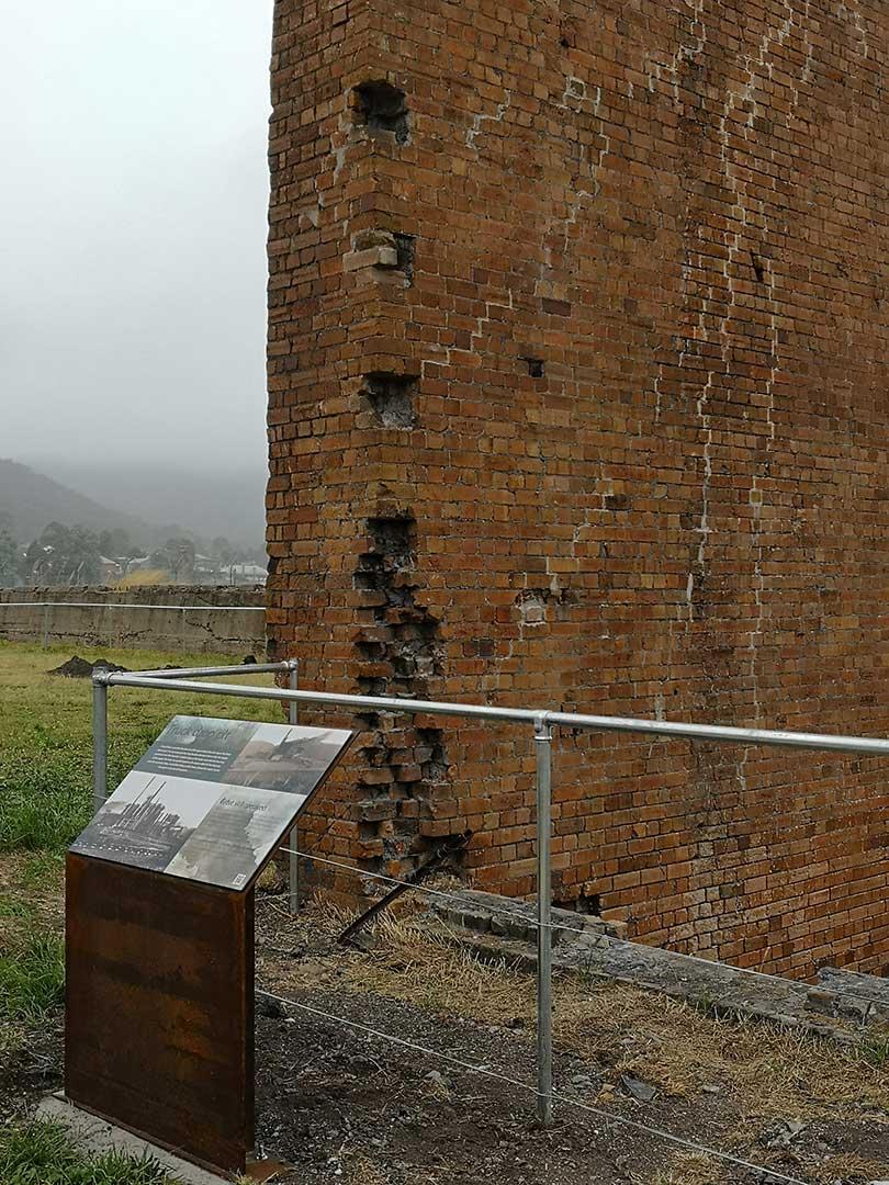 Blast Furnace heritage signage