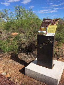 Bush Tucker Signage - Ngurin Walking Track