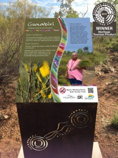 Bush Tucker Signage, Karratha WA