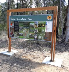 Information Signs, NPWS
