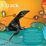 Gumgali Track Aboriginal Graphic Design
