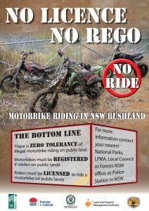 No Rego No Ride poster