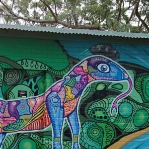 Gumgali Spray Art - interpretive visitor experience