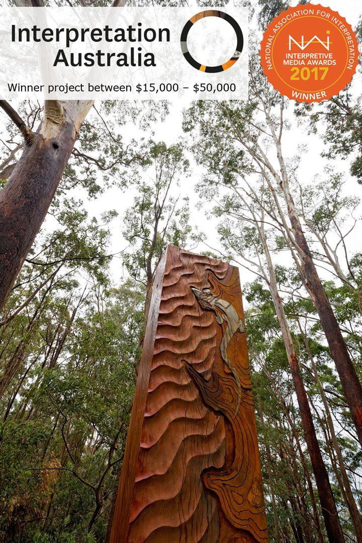 Sculpture Trail, Gumgali Track, Korora Lookout