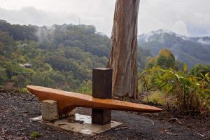 sculpture trail - seating