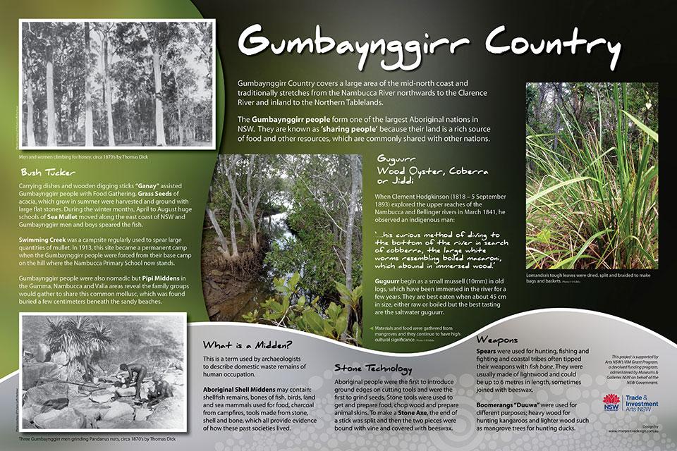 Nambucca Headland Museum - Gumbaynggirr Heritage