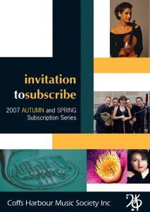 CHMS 2007 brochure