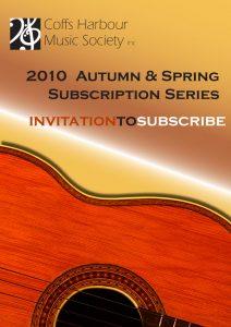 CHMS 2010 brochure