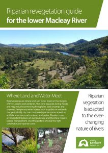 Riparian vegetation guide brochure