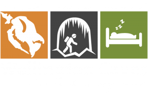 Wellington Caves Logo development