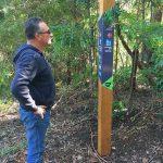 Garraan.gurr totem walking track signage