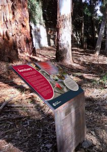 Environmental interpretive signs