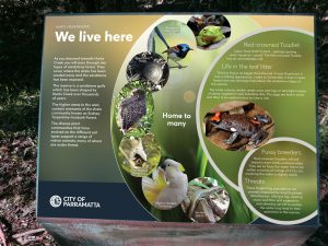 Flora and fauna sign
