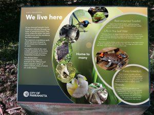 Flora and fauna sign