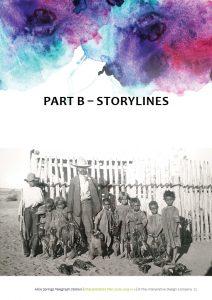 ASTS Interpretive Plan storylines