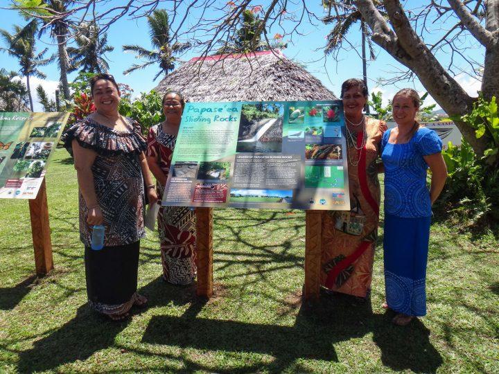 Nature & Tourist Information Signs, Samoa