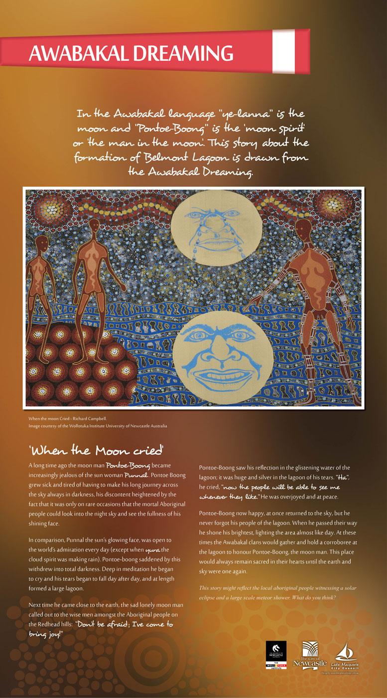 Fernleigh Track aboriginal panels