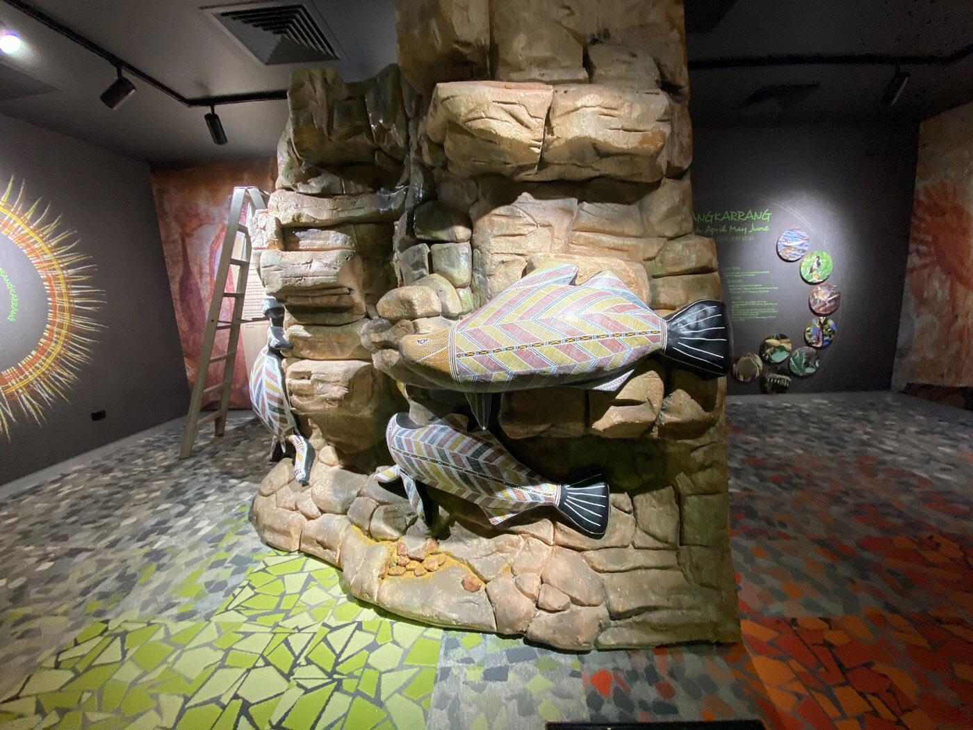 Barramundi rock pillar
