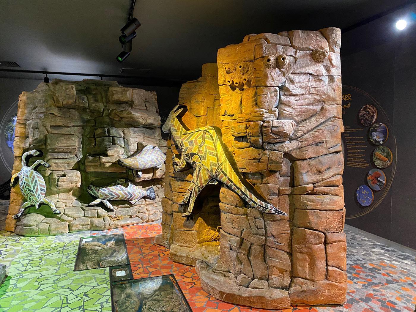 Kangaroo rock pillar
